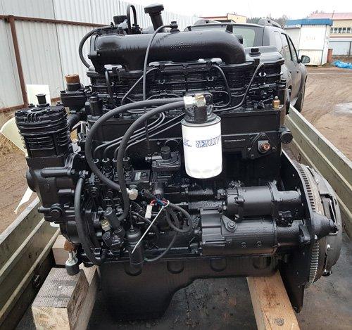 Двигатель ммз д 245